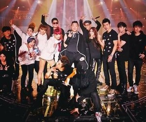 2ne1, psy, and big bang image