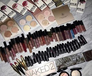 eyeshadow, kylie jenner, and makeup image