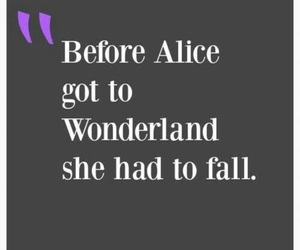 quotes, alice, and inspiration image