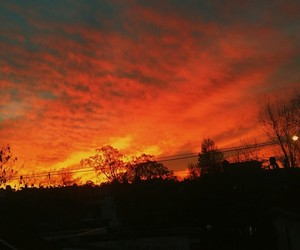atardecer, cielo, and crepusculo image