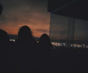 bffs, hipster, and night image