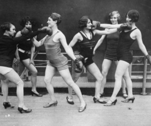 vintage and boxing image