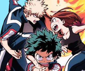 my hero academia, boku no hero academia, and anime image