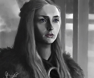 black and white, winter is coming, and a song of ice and fire image