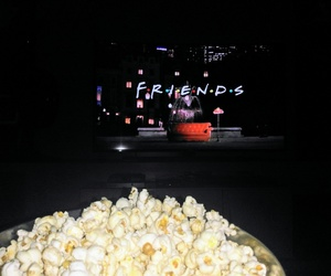 lights, night, and popcorn image