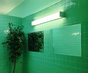 green, light, and esthetic image