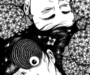 horror, uzumaki, and manga image