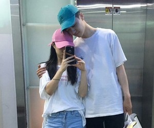 couple, kfashion, and ulzzang image