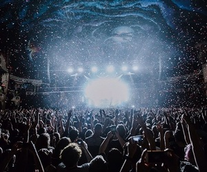 all time low, concert, and fun image