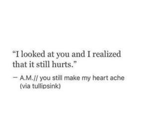 heartbreak, him, and hurt image