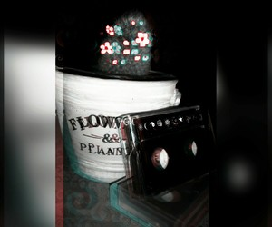 cactus, flower, and tapes image