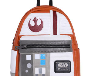 star wars, loungefly, and mini backpack image
