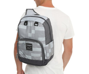 backpack, creeper, and grey image