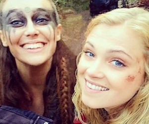 lexa, clarke griffin, and eliza taylor image