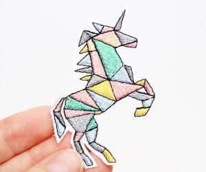 patch and unicorn image