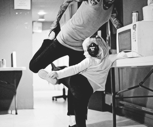 mitch lucker, tattoo, and black and white image
