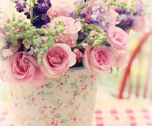 pastel, shabby chic, and vintage image