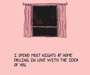 quotes, pink, and love image