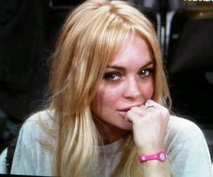 lindsay lohan and blonde image