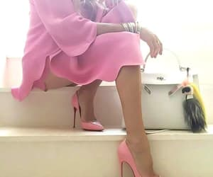 fashion, high heels, and legs image