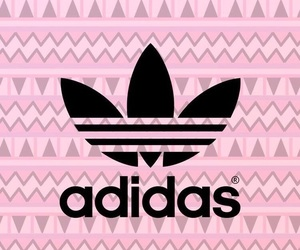adidas, girly, and wallpaper image