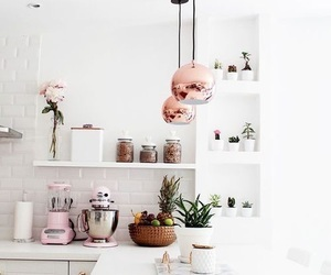 kitchen, cute, and house goals image