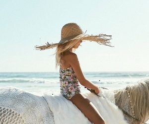 beach, blonde, and cool image