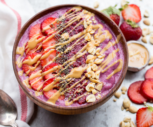 food, smoothie, and sweets image