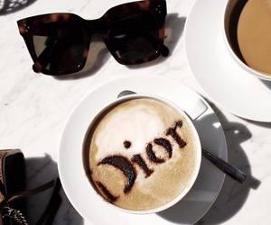 dior and coffee image