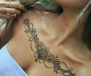 beautiful, henna, and henné image
