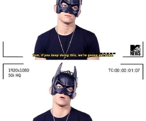 tom holland, batman, and Marvel image