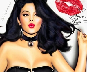 cool, selenagomez, and drawing image
