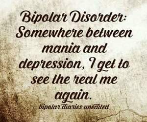 bipolar, bipolar disorder, and mental illness image