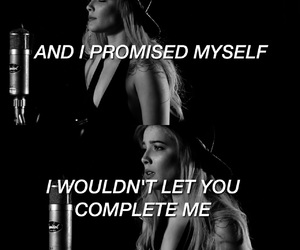 alternative, b&w, and Lyrics image