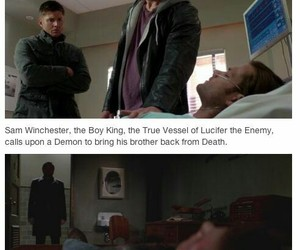 angel, dean winchester, and heaven image