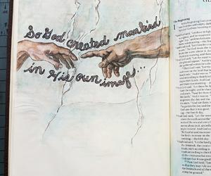 creative, faith, and jesus image