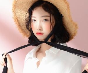 girls, kfashion, and korean image