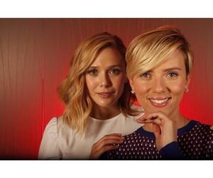 Avengers, elizabeth olsen, and Scarlett Johansson image