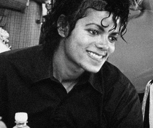michael jackson, smile, and beautiful image