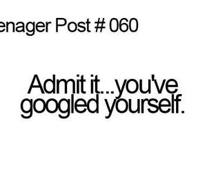 google, true, and teenager post image