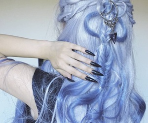 hair, colors, and fashion image