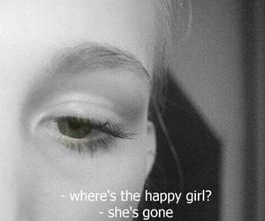 sad, happy, and gone image