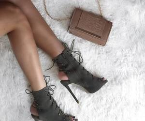 fashion, heels, and green image