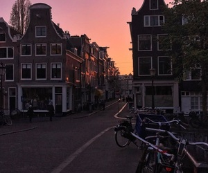 netherlands, pink sky, and tumblr image