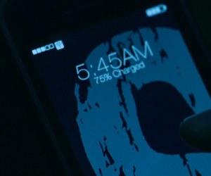 phone, screencap, and time image