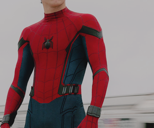 tom holland and Avengers image