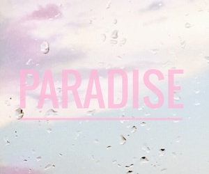 paradise, pastel, and sky image