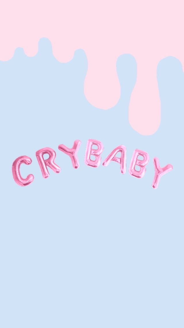 Crybaby Dripping Wallpaper By Me I Added The Transparent