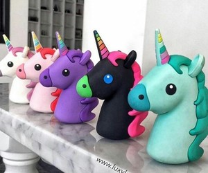baby, colors, and unicorn image