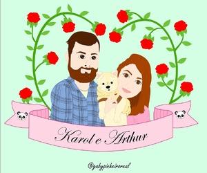 casal, cookie, and namorados image